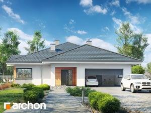 Projekt domu ARCHON+ Dom v jonagoldách 4 (G2)