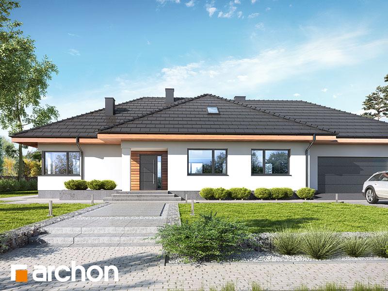 Dom pod rozkvitnutou jabloňou 5 (G2) - Vizualizácia 1