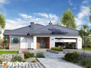 Projekt domu ARCHON+ Dom v jonagoldách 3 (G2)
