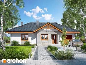 Projekt domu ARCHON+ Dom v nerinkách 5