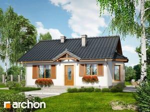 Projekt domu ARCHON+ Dom v bobuliach ver.2