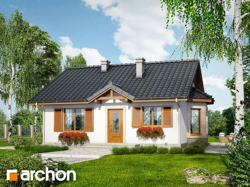 Dom v bobuliach ver.2 - Vizualizácia 1