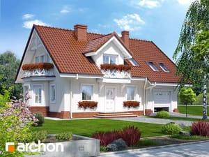 Projekt domu ARCHON+ Dom medzi rododendronmi 8 ver.2