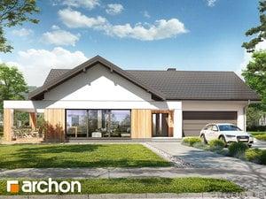 Projekt domu ARCHON+ Dom v orgovánoch 11 (G2)