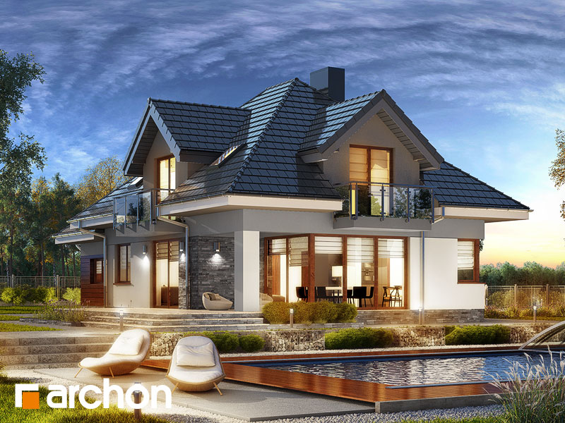 Dom v slivkach 2 (G) - Vizualizácia 2