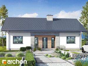 Projekt domu ARCHON+ Dom v kostravách 4