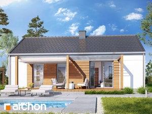 Projekt domu ARCHON+ Dom medzi brečtanom 6