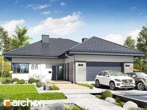 Projekt domu ARCHON+ Dom v snežienkach 5 (G2)