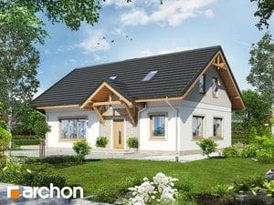 Projekt domu ARCHON+ Dom medzi arnikou (PD) ver.2