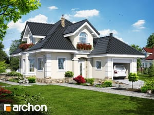 Projekt domu ARCHON+ Dom v rukole (P)