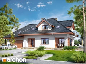 Projekt domu ARCHON+ Dom medzi kanami 5 (G2)