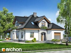 Projekt domu ARCHON+ Dom medzi smolničkami (P)