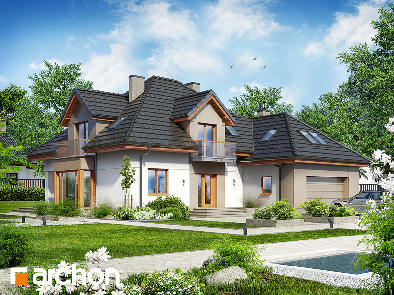 Dom v nechtíkoch 2 (n) - Vizualizácia 1