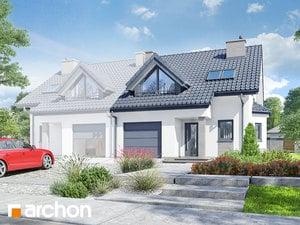 Projekt domu ARCHON+ Dom v plamienkoch 2 ver.3