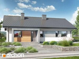 Projekt domu ARCHON+ Dom medzi brečtanom 4