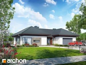 Projekt domu ARCHON+ Dom medzi kliviami (G2)
