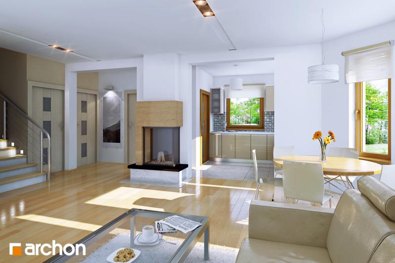 Dom medzi rododendronmi 5 (P) ver.2 - Interiér