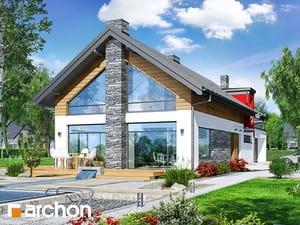Projekt domu ARCHON+ Dom pri vavrínoch (G2P)