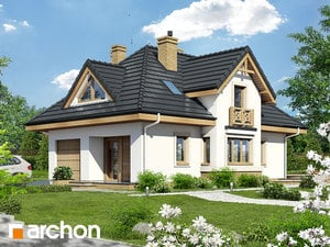 Projekt domu ARCHON+ Dom medzi fuksiami 3 ver.2