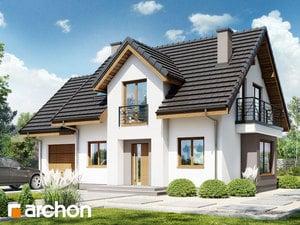 Projekt domu ARCHON+ Dom v lantane 2 ver.2
