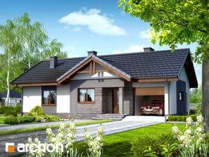 Projekt domu ARCHON+ Dom v nerinkách ver.2