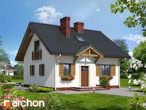 Projekt domu ARCHON+ Dom - miniatúrka