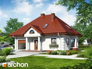 Projekt domu ARCHON+ Dom medzi viničom 2