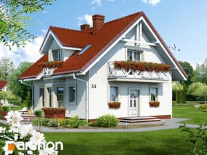 Projekt domu ARCHON+ Dom medzi rododendronmi