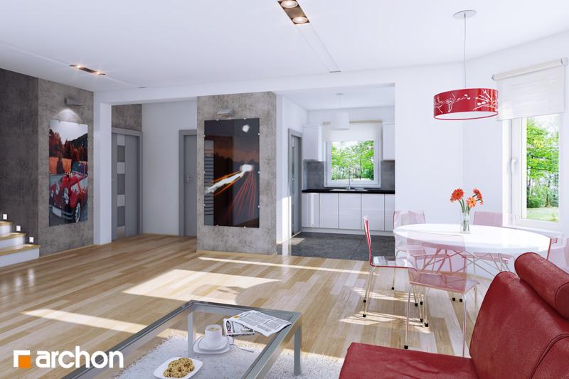 Dom medzi rododendronmi - Interiér