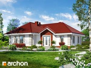 Projekt domu ARCHON+ Dom uprostred srdcovníka