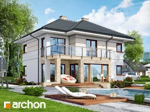 Projekt domu ARCHON+ Vila Eliza 2