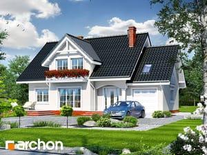 Projekt domu ARCHON+ Dom v ligurčeku 2