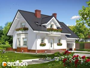 Projekt domu ARCHON+ Dom medzi rododendronmi 15 ver.2