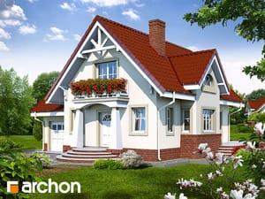 Projekt domu ARCHON+ Dom medzi marhuľami