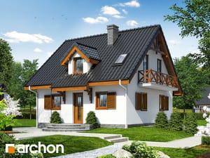 Projekt domu ARCHON+ Dom medzi jahôdkami 3 (P)