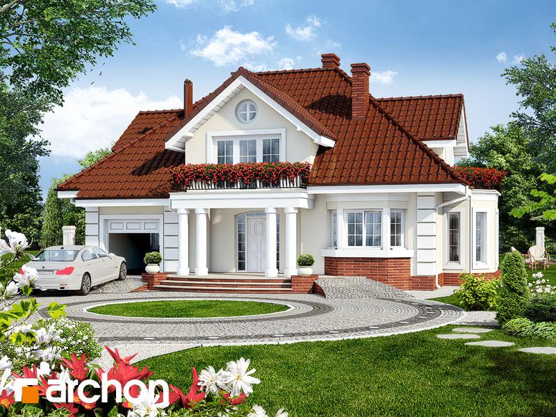 Dom v zemoleze - Vizualizácia 1