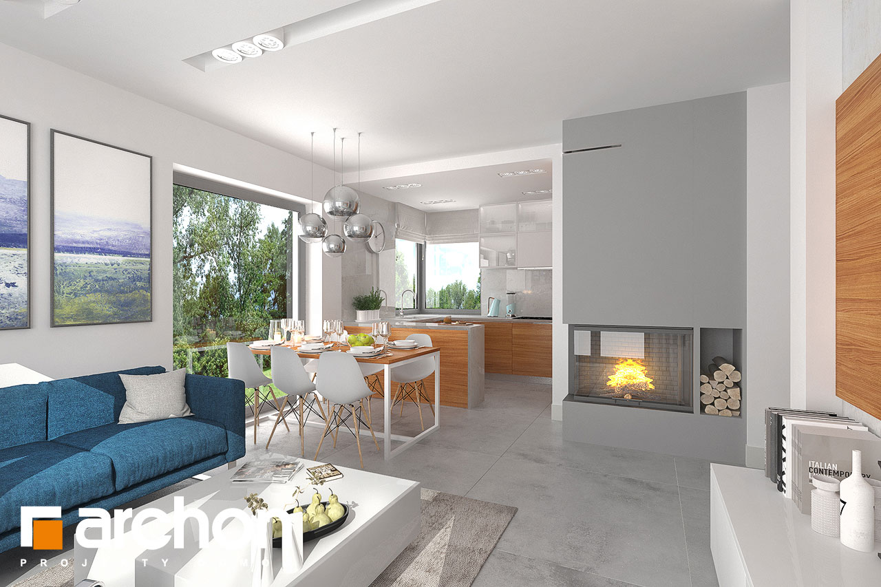 Dom v plumériách 2 - Interiér