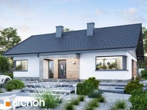 Projekt domu ARCHON+ Dom pod jarabinou 21