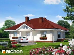 Projekt domu ARCHON+ Dom pod jarabinou ver.2