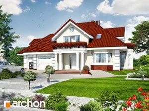 Projekt domu ARCHON+ Dom v zemoleze (G2)