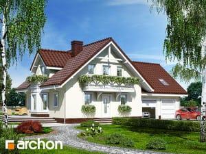 Projekt domu ARCHON+ Dom medzi rododendronmi 5 (G2)
