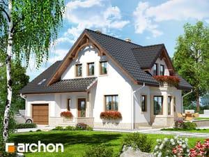 Projekt domu ARCHON+ Dom medzi tamariškami 2 (P)