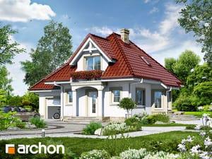 Projekt domu ARCHON+ Dom uprostred hrozna 3