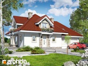 Projekt domu ARCHON+ Dom medzi nektarinkami (G2)
