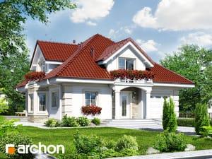 Projekt domu ARCHON+ Dom medzi tymiánom 3