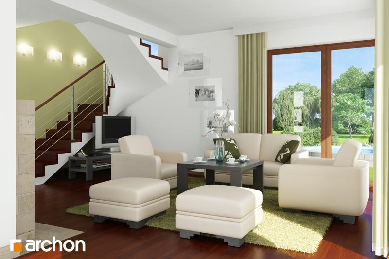 Dom v amarilkách - Interiér
