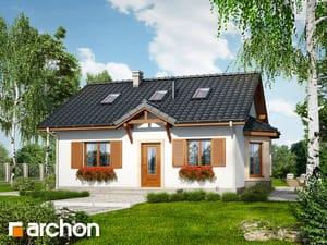 Projekt domu ARCHON+ Dom v bobuliach (PD)