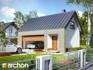 Projekt domu ARCHON+ Garáž pre dve auta G15