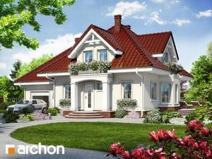 Projekt domu ARCHON+ Dom medzi tamariškami 7