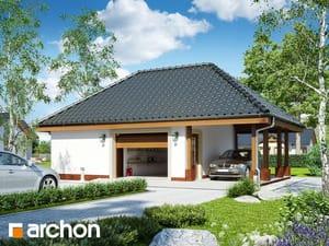 Projekt domu ARCHON+ Garáž pre jedno auto G16